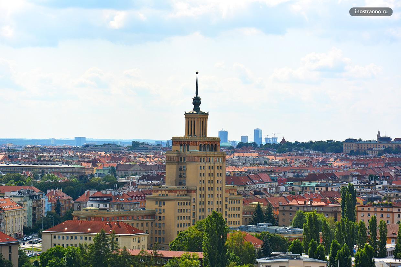Отель International в Праге сталинская архитектура