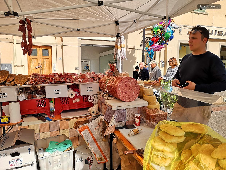 Фермерский рынок в Италии