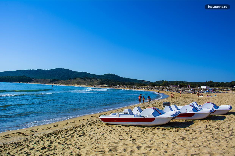 Курорт в Болгарии для пляжного отдыха