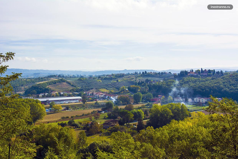 Романтичные пейзажи Тосканы