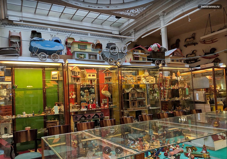 Музей игрушек в Брюсселе
