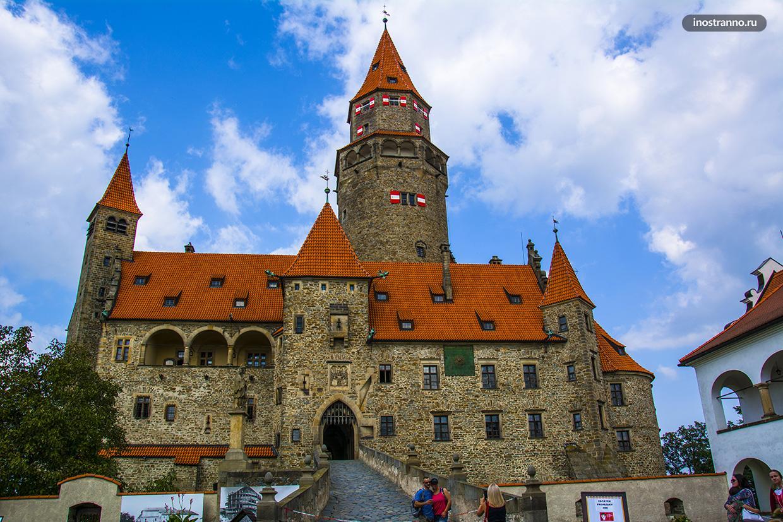 Замок Боузов в чешском регионе Моравия