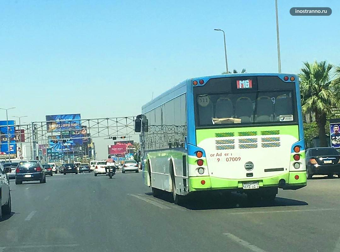 Автобус в Каире