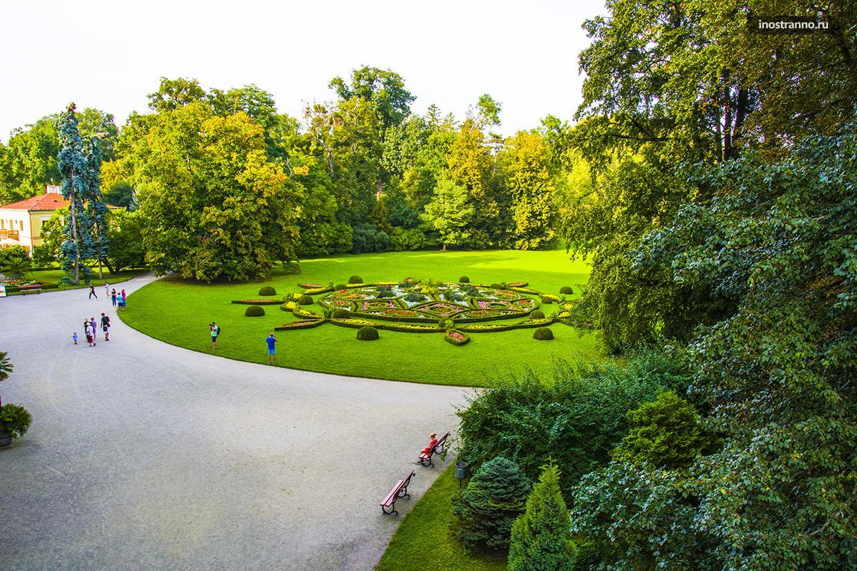 Объект под охраной ЮНЕСКО в Чехии - Кромержиж
