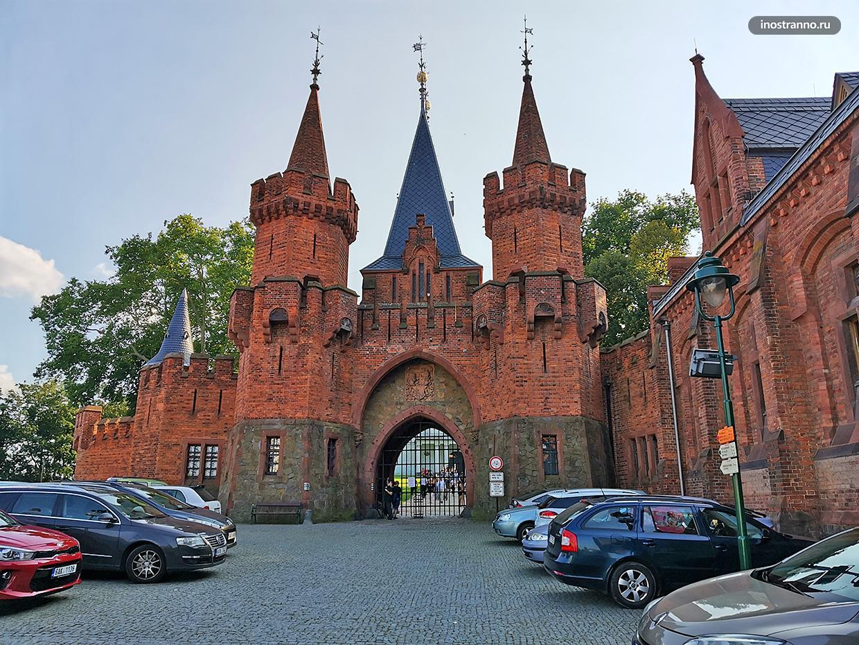 Сказочный замок в Европе