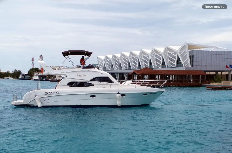 Порт Хулхуле на Мальдивах