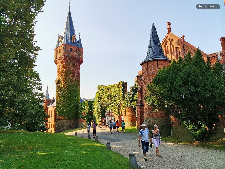 Средневековый замок в Чехии
