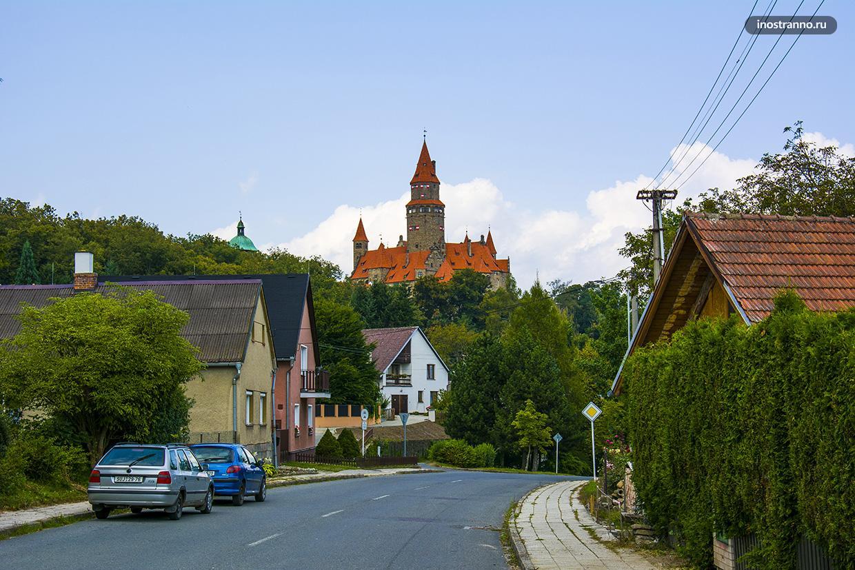 Средневековый чешский замок