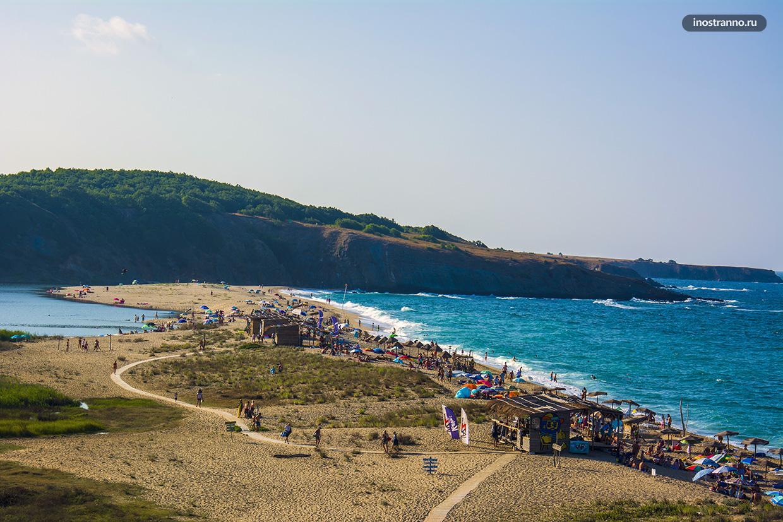 Самый красивый пляж Черного моря