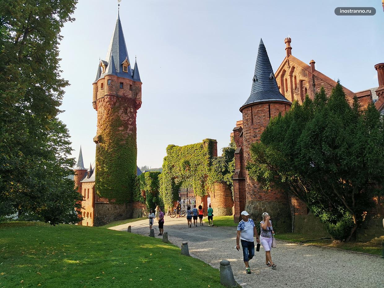 Самый красивый моравский замок Градец-над-Моравици