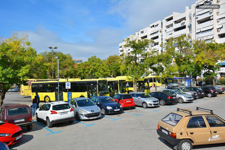Парковка в Хорватии