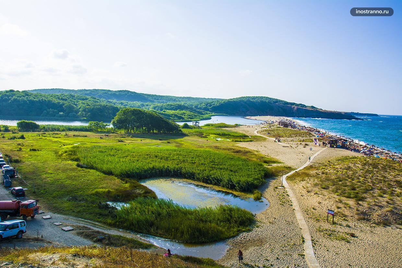 Самый живописный пляж южной Болгарии