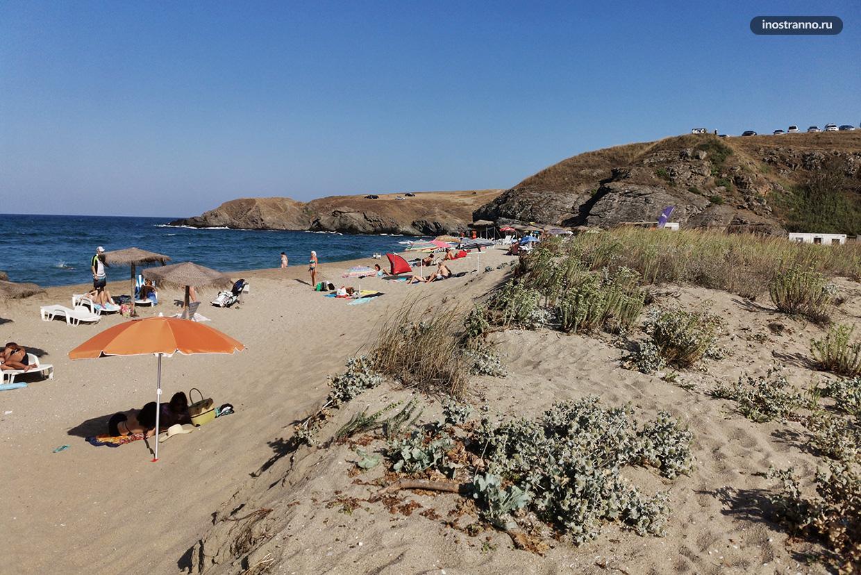 Пляж Велека рядом с курортом Синеморец