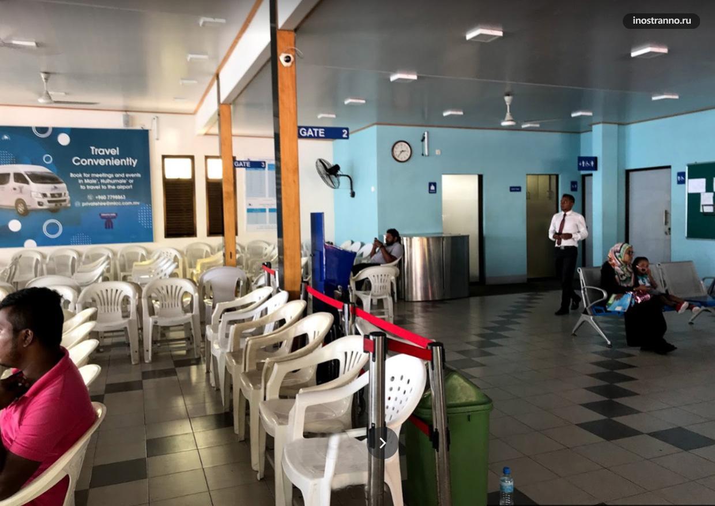 Паромный терминал Villingili в Мале