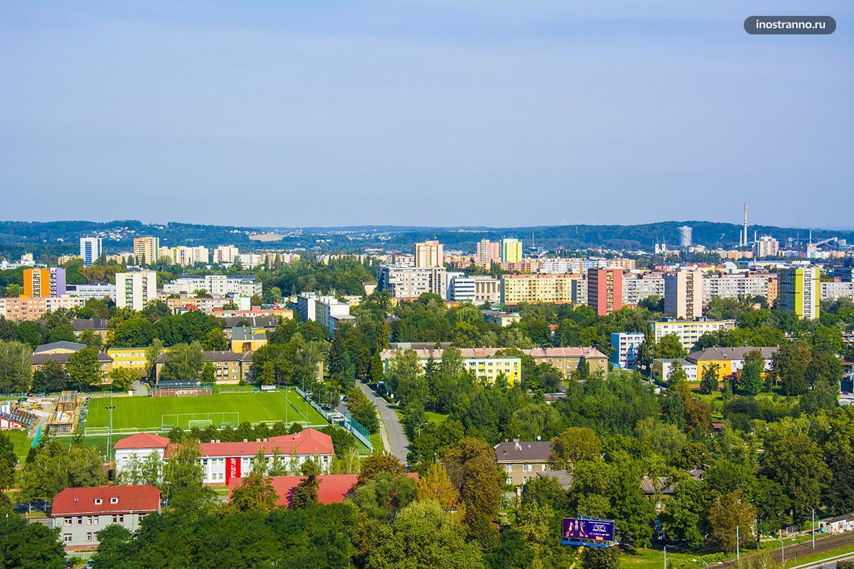 Жилые дома и квартиры в Остраве