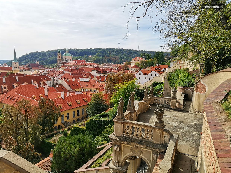 Красивые виды Праги