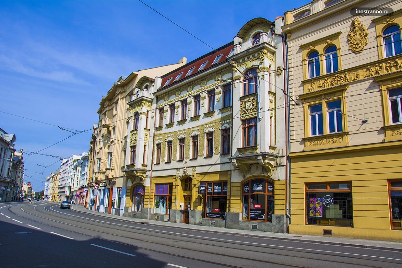 Красивые здания в Чехии