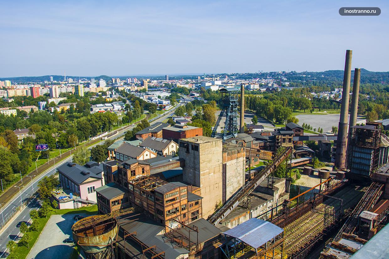 Долни Витковице промышленная зона в Остраве