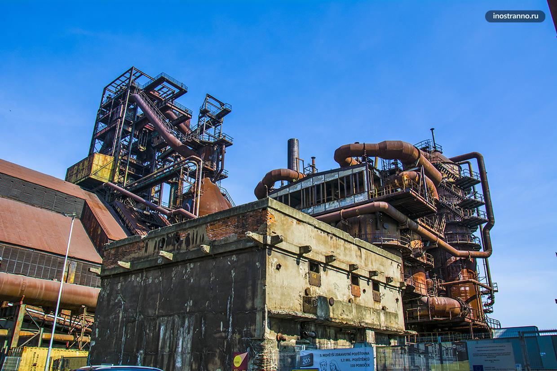 Завод в Чехии