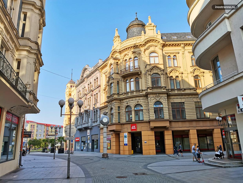 Интересный город в Чехии