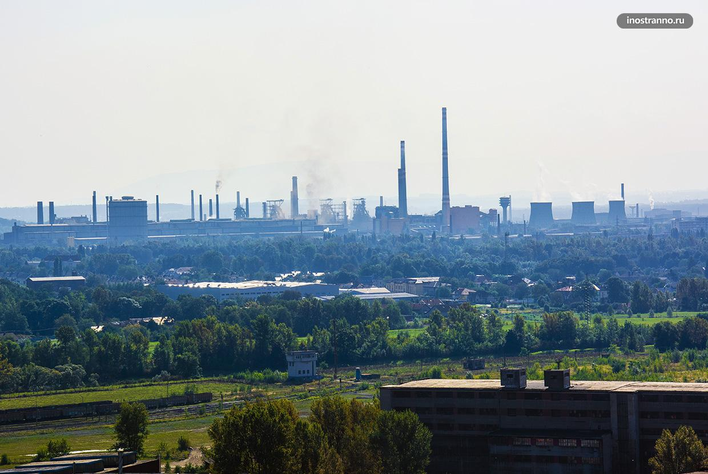 Liberty Ostrava производитель стали в Чехии, Острава