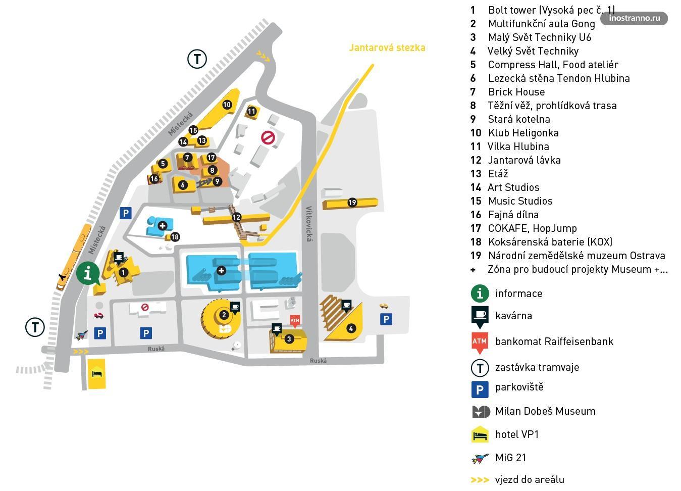 Долни Витковице карта, парковка и как добраться