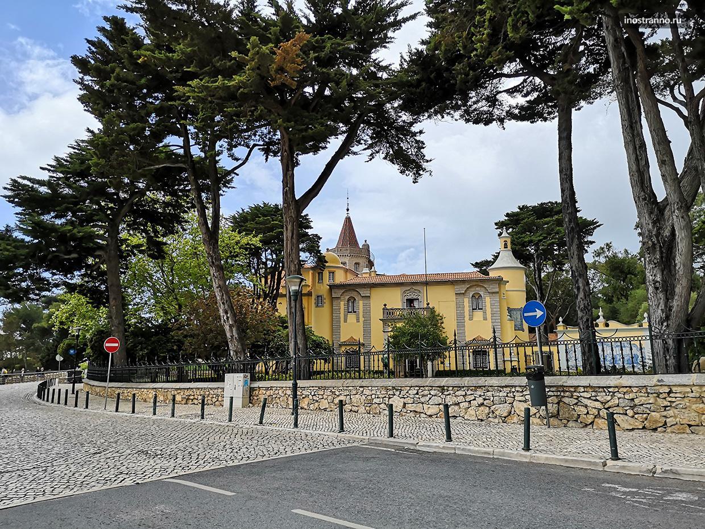 Дворец Паласио-де-Конде де Кастро Гимарайнш