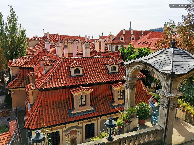 Пражские красные крыши