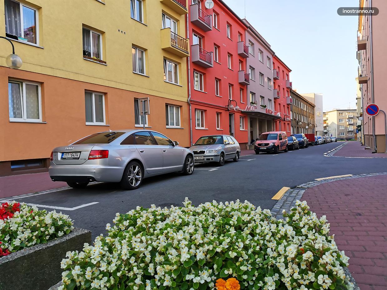 Как выглядит жилой район в Чехии