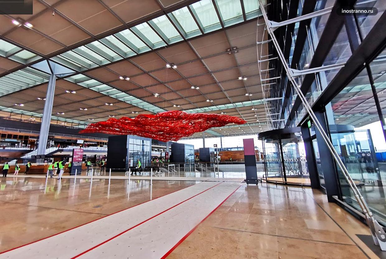 Аэропорт Берлин-Бранденбург куда прилетают рейсы из России и Аэрофлот