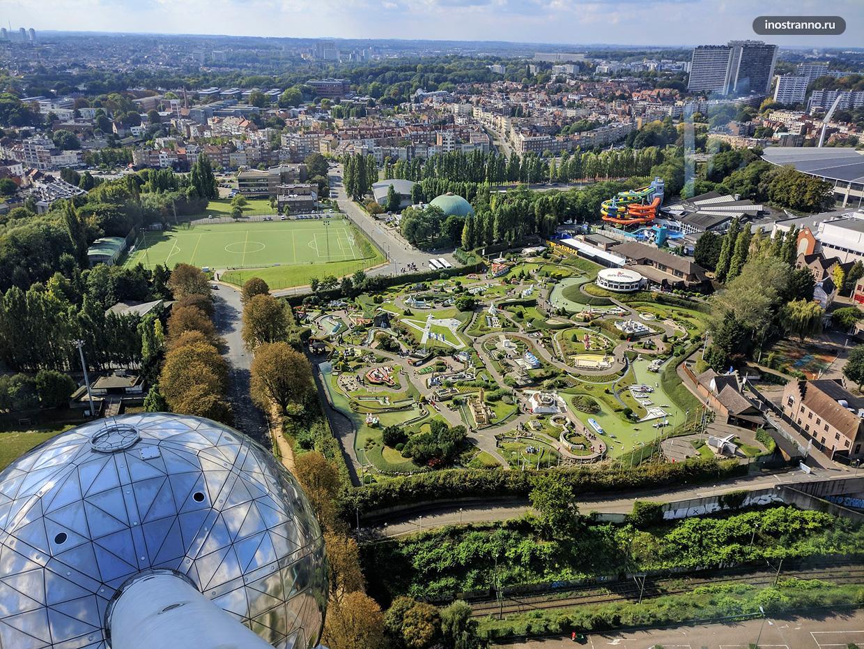 Лучшие и самые высокие смотровые площадка Брюсселя