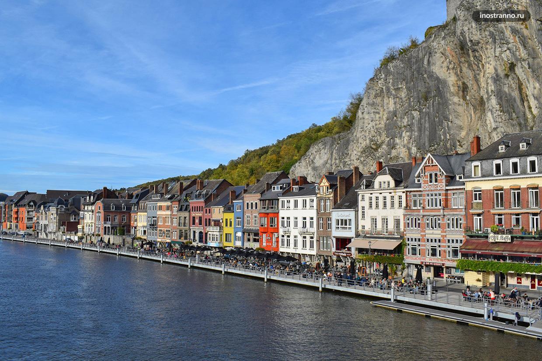 Динан интересный город в Бельгии