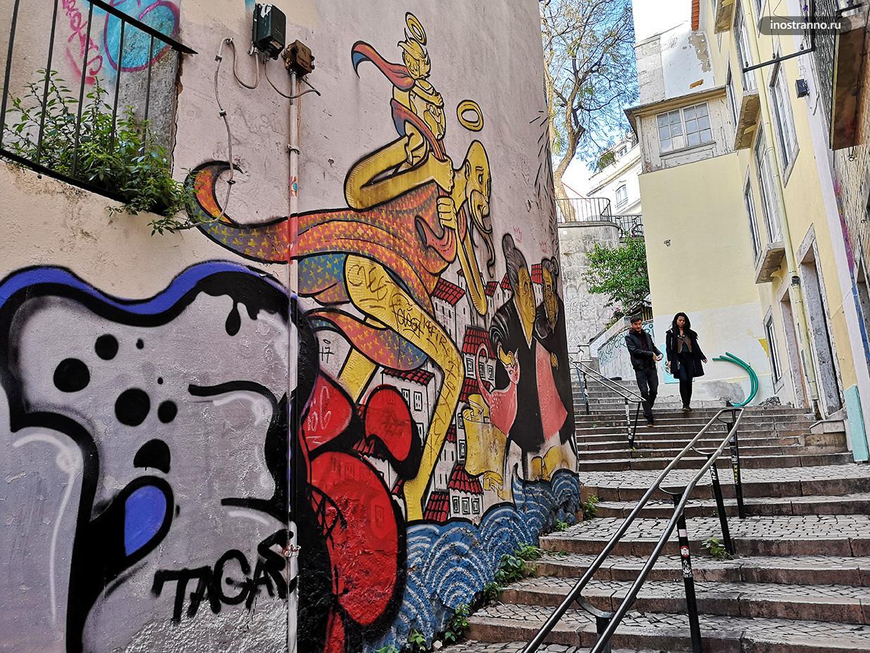Лестницы и улочки Лиссабона
