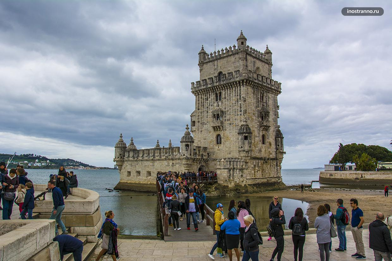 Что посмотреть в Лиссабоне башня Торре-де-Белен