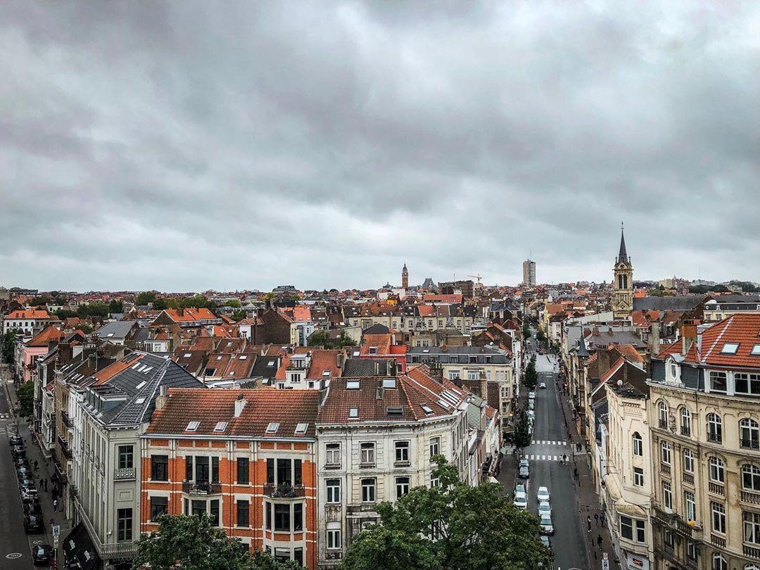Халлепорт смотровая площадка панорама 360 в Брюсселе