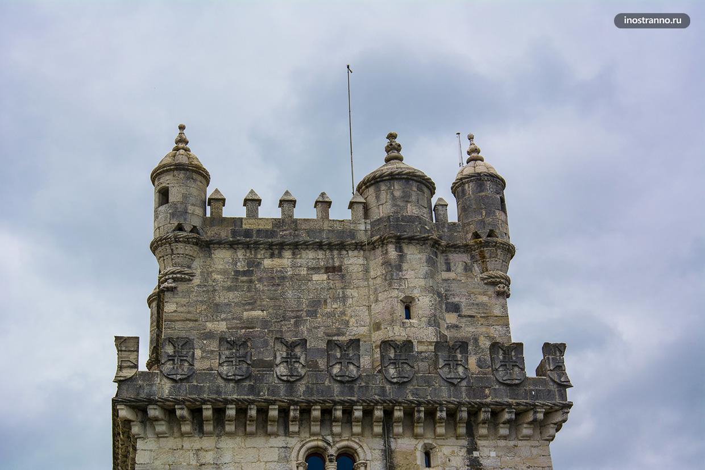 Главная достопримечательность Лиссабона башня Торре-де-Белен