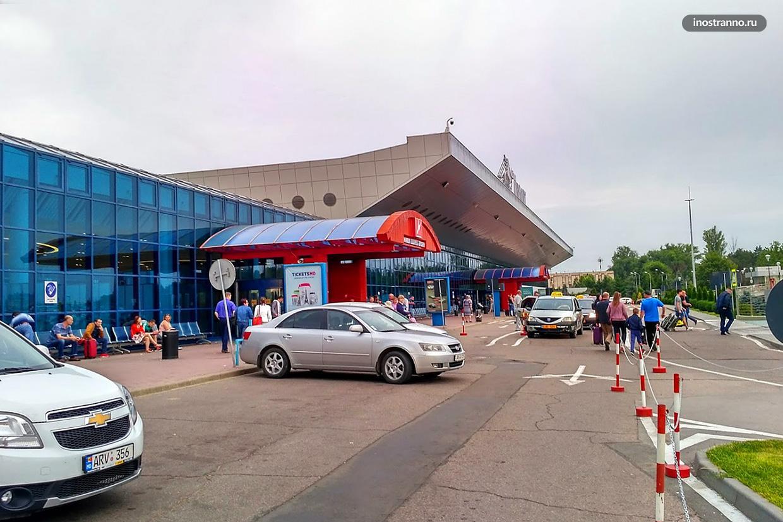 Парковка в аэропорту Кишинева