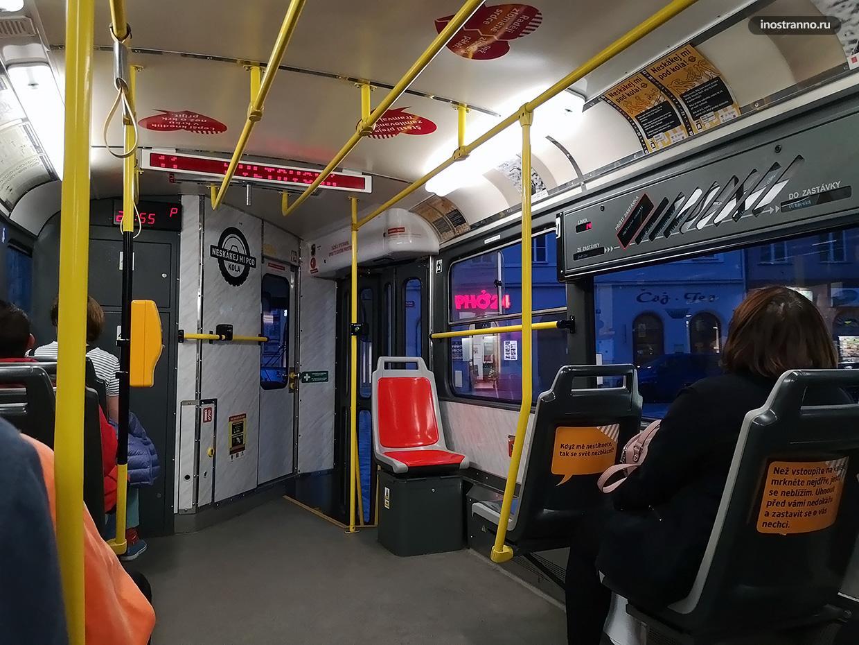 Ночной трамвай в Праге
