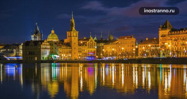 Ночные фото Праги