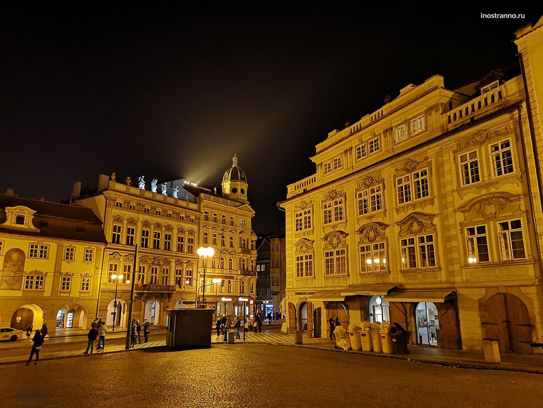 Как выглядит Прага ночью