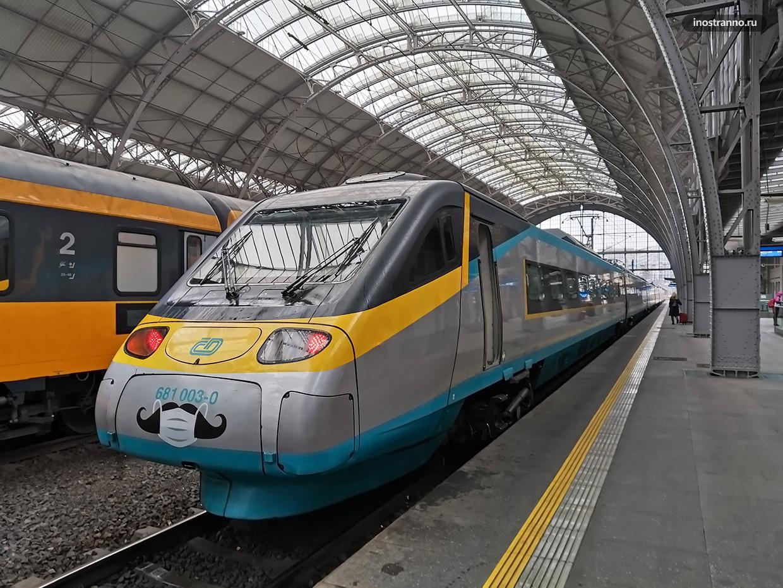 Поезд Прага Пльзень