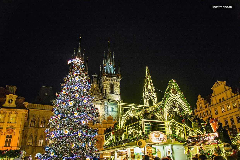 Где отметить новый год в Европе