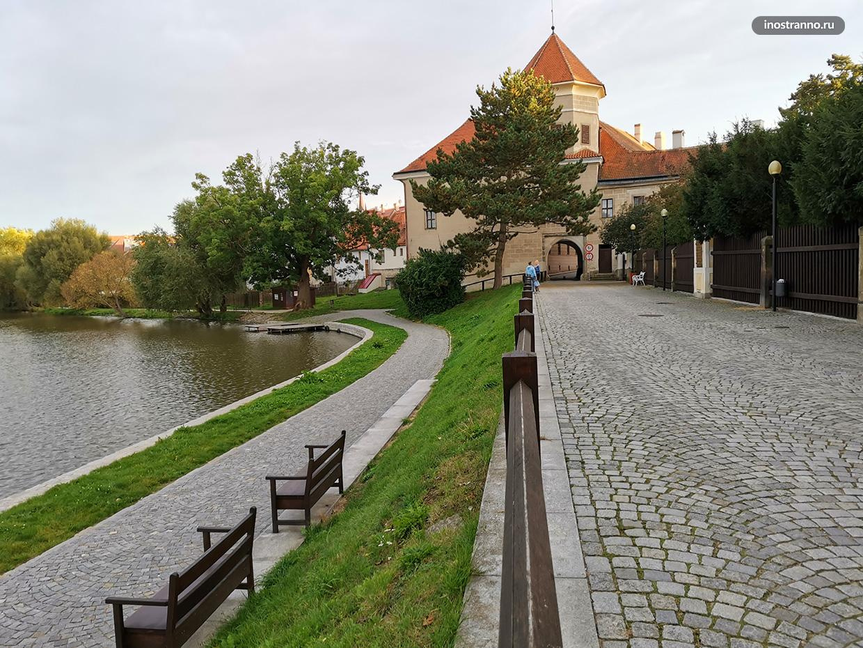 Красивый чешский город