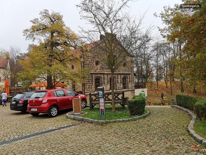 Красивый нетуристический район около Праги