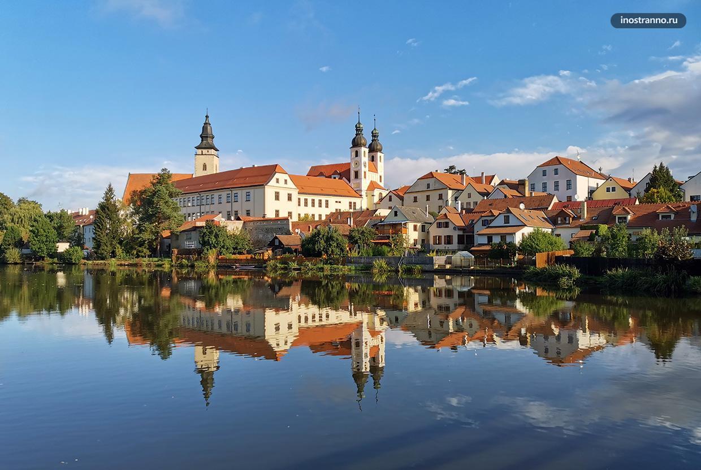 Очаровательный моравский городок Тельч