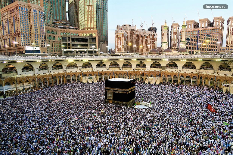 Священный город Мекка в Саудовской Аравии