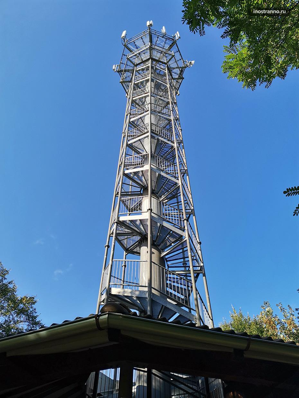 Смотровая башня в Моравии