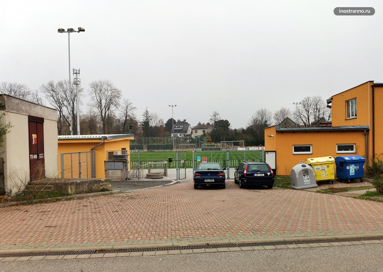 Спортивные стадион в Чехии