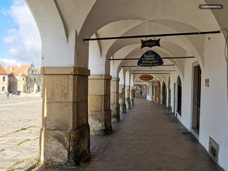 Центральная площадь в Тельче