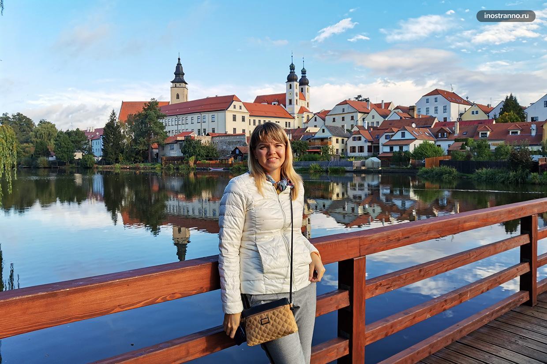 Чем заняться в Чехии - посетить Тельч